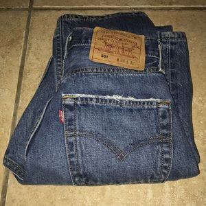 Vintage Levi's 501 Made in USA Size 26X32 Jeans